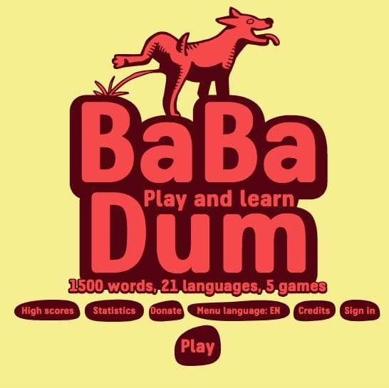 Herr Antrim's Recommended Resources: Babadum
