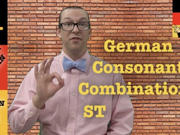 German Consonant Combinations