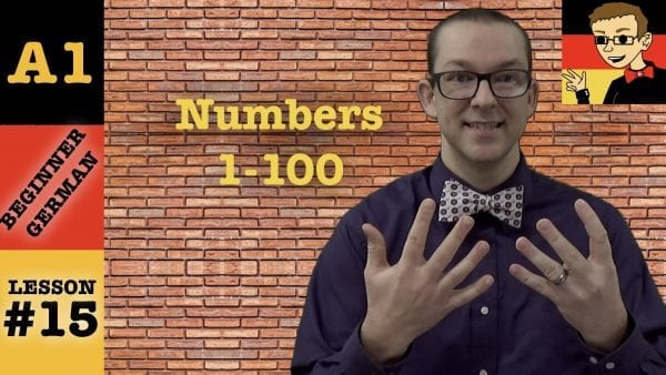 German Numbers 1-100