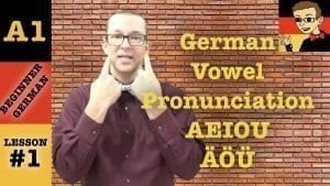 German Vowel Pronunciation
