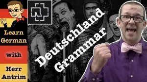 Rammstein Deutschland Grammatical Analysis