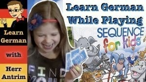 Learn German with Sequence Game