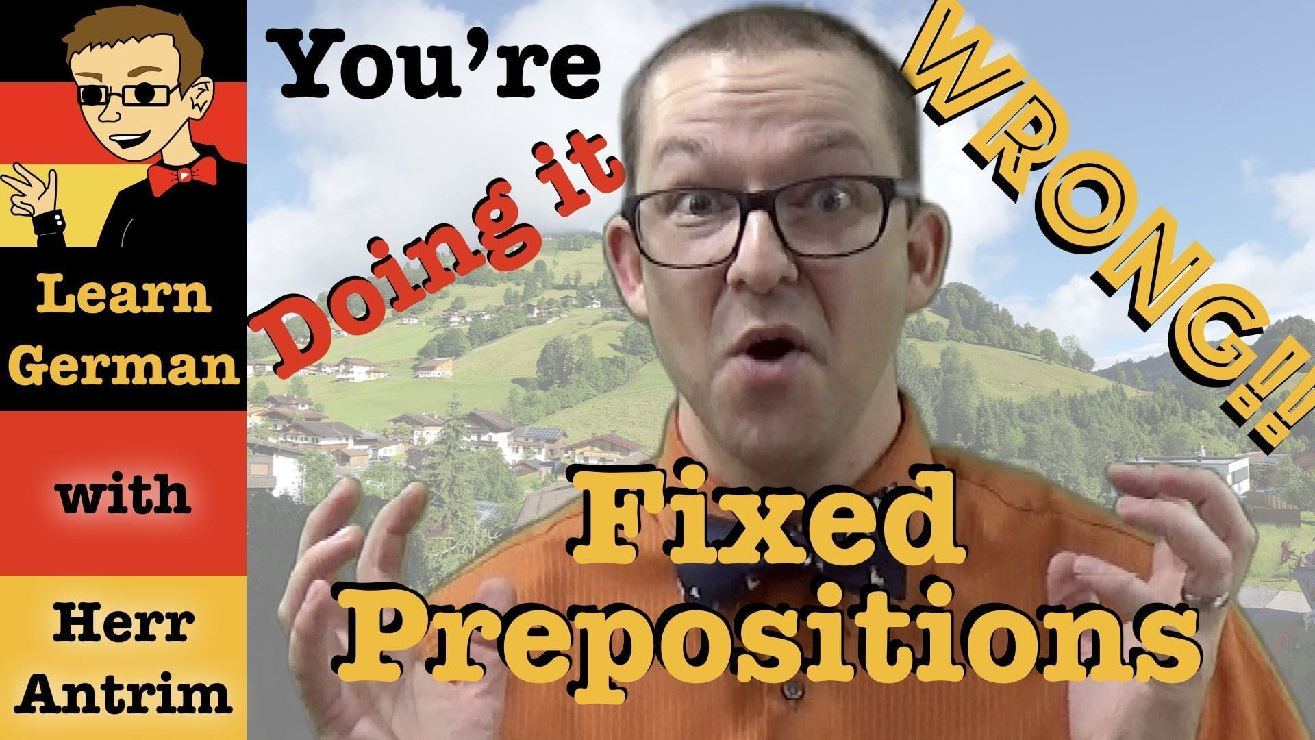 German Verbs with Fixed Prepositions Don't Exist