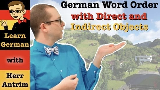 Direct & Indirect Object Word Order