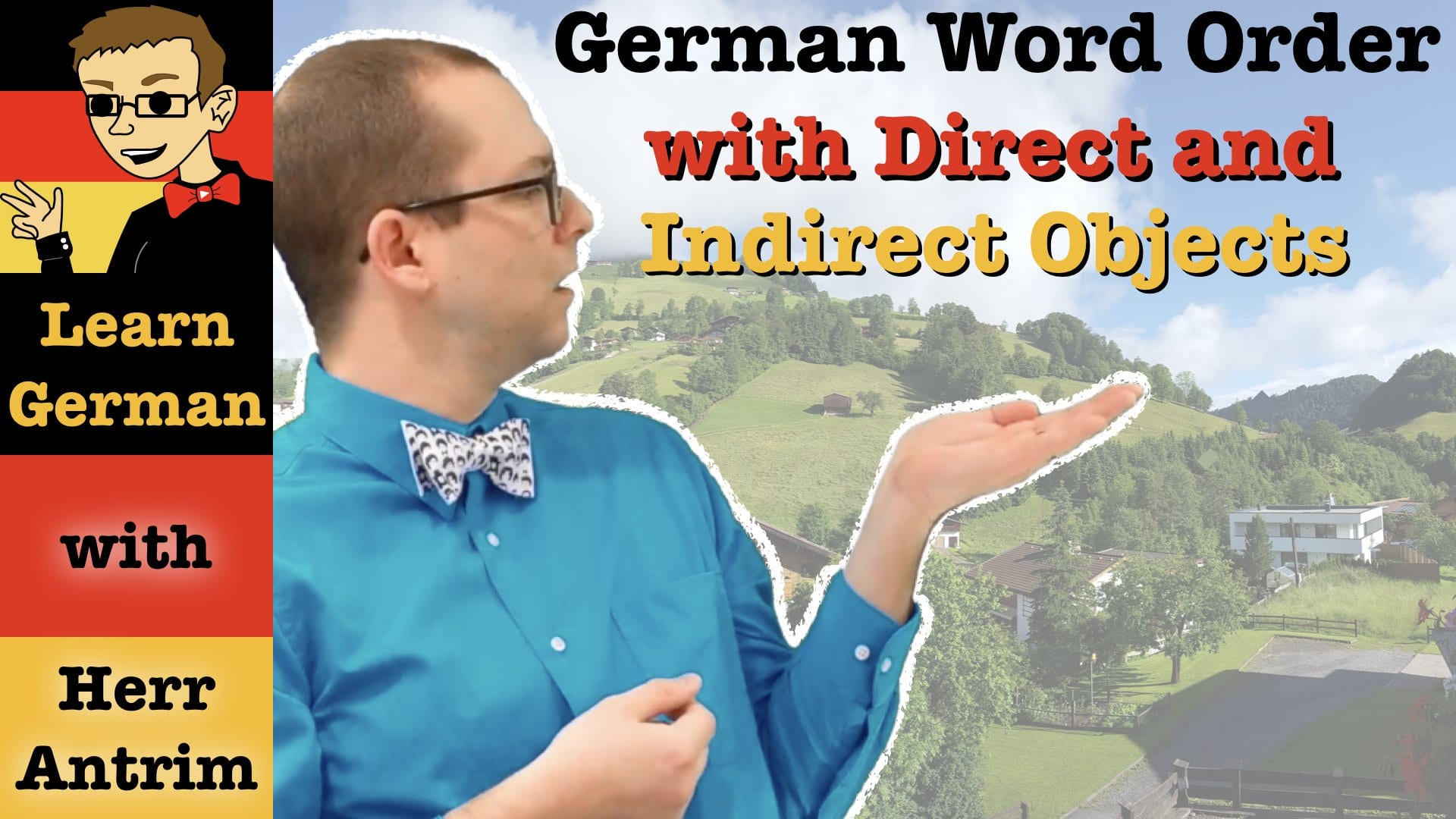 Word Order with Direct & Indirect Objects