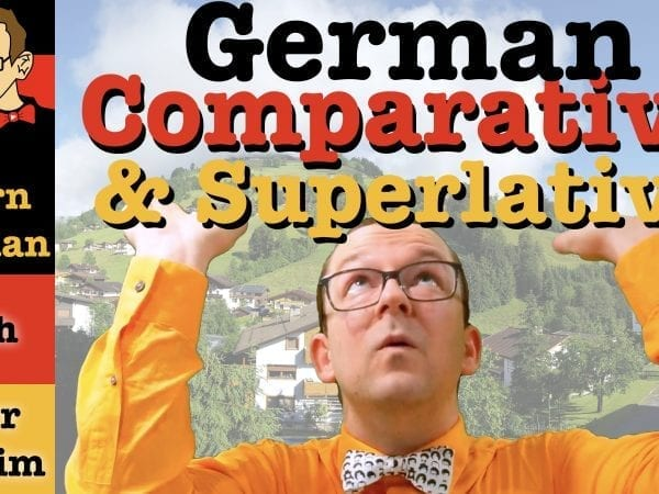 Comparative & Superlative in German