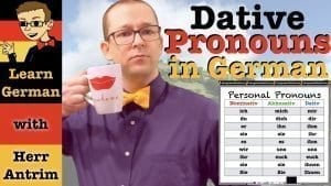 Dative Case Personal Pronouns in German