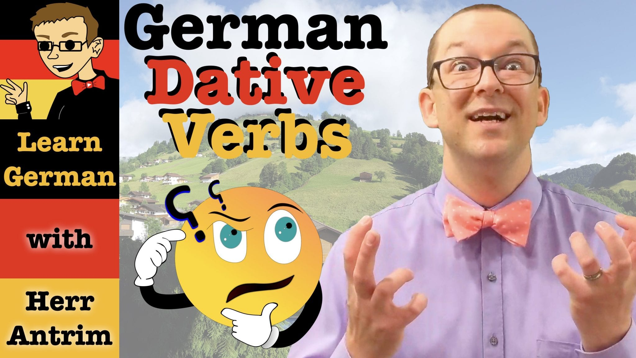 German Dative Verbs with Examples