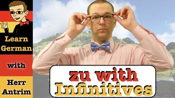 infinitive clauses with zu