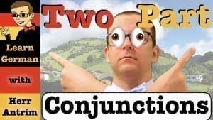 Two-Part Conjunctions in German