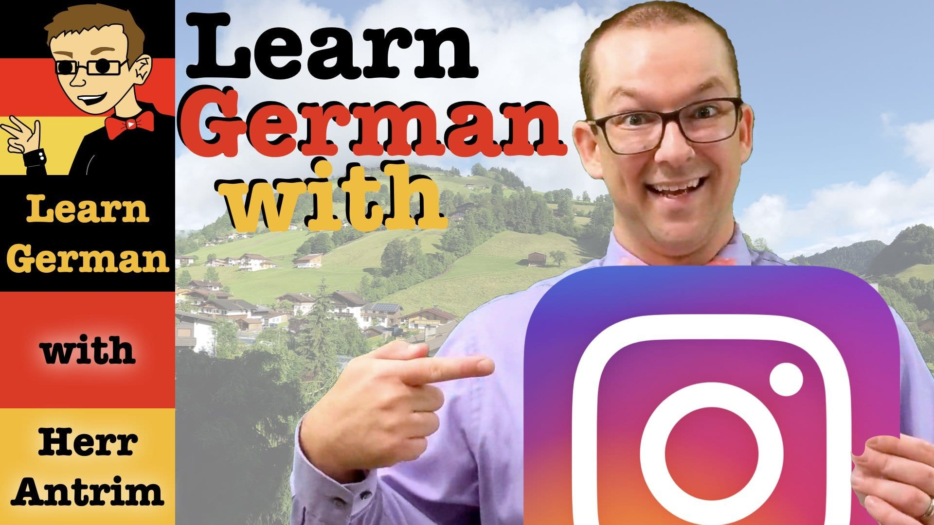 How to Learn German on Instagram