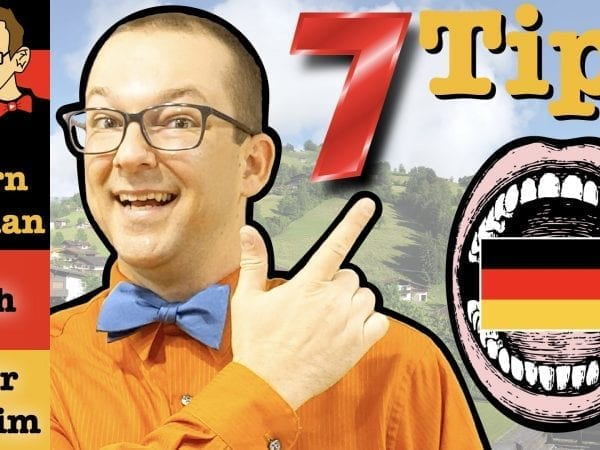 7 Tips to Improve German Pronunciation